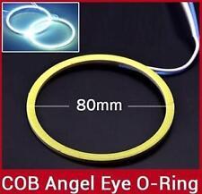 2X80mm LED COB Angel Eye Ring Car Light Super Bright Waterproof White for NISSAN