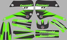 Graphics for 1998-2013 Kawasaki KX85 KX 100 KX 85 Decals Shrouds fender Sticker