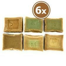 6 X Aleppo Soap À 50g. Kennenlern & Try Package Gästeseife Miniseife Vegan