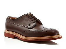Church's Matlock Brogue Derby Size 6F-7 D US Men's Wingtip Leather Shoes