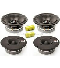 KIT CIARE COPPIA CM200N Woofer 20cm 250W CT382 Tweeter 400W SPL Porta auto