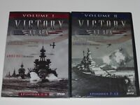 NEW Victory at Sea Vol. 1 and 2 Episodes 1-12 2-Disc DVD set