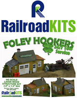 Foley Hookers by Railroad Kits - HO Scale Craftsman Structure - 24/7 Tow Service