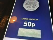2020 uk withdrawel from eu brexit 50p sealed certified coin PRE ORDER REDUCED