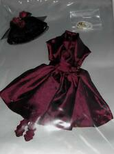 "Wine & Roses Tiny Kitty outfit Tonner MIP* fit 10"" Simone Rouge doll 2014 Creasd"