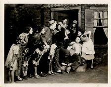 PORGY AND BESS (1935) Theatre Guild photo of divorce scene from Gershwin opera