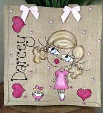 Personalised Jute Bag Gift 32cm x 32cm