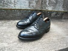 CROCKETT & JONES BROGUES – BLACK – UK 8.5  – CARDIFF - EXCELLENT CONDITION