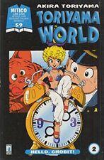 STAR COMICS TORIYAMA WORLD 1-5 SERIE COMPLETA MANGA ARALE DRAGON BALL