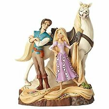 Enesco Disney Traditions by Jim Shore Tangled Carved by Heart Live Your Dream