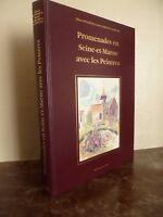 L. Levasseur-A.morichon Paseos En Seine&marne Con Las Pintor 1989 Amatteis
