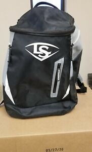 Louisville Slugger Softball/Baseball Backpack Bat Bag Black/Gray Great Shape