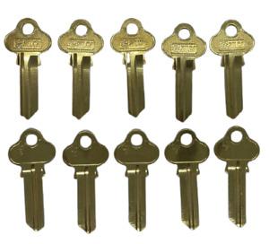 BRASS LW4 Key Blanks for Lockwood - LW4 - Key Blanks - SILCA - PACK 10