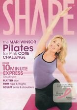 Pilates EXERCISE DVD - Mari Winsor Pilates DVD Core Challenge - 4 Workouts!