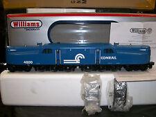 Williams Scale GG1 Powered Locomotive Conrail Blue & White Cab # 4800 Test Run