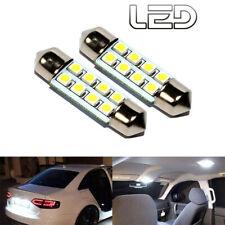 Ampoule 8 led 12V voiture intérieur 41mm plafonnier Coffre culot SV8.5-8 auto (2
