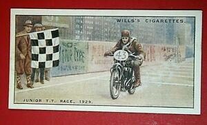 VELOCETTE   ISLE OF MAN  Junior TT Race 1929   Freddy Hicks    Vintage Card