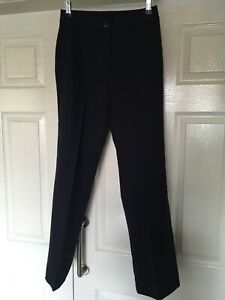 BNWT DCC Smart Work Trousers Pants in Navy Blue Size UK 8