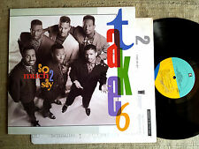 Take 6 – So Much 2 Say   - LP