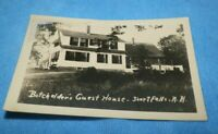 Vintage RPPC-Batchelder's Guest House, Short Falls, NH