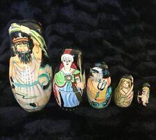 Matryoshka Nesting Dolls Greek Gods Museum Of Fine Arts Boston Zeus Cupid Tritan