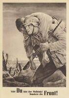 AMAZING ORIG LG OCCUPIED POLAND ART CARD iss on NAZI PARTY DAY 1943! 2 SWASTIKAS