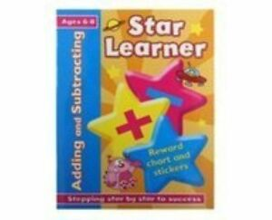 Star Learner - Adding & Subtracting - Ages 6-8 *FREE P&P*