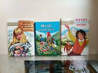 Lot de 3 livres Heidi Johanna Spyri et Nelly kristin