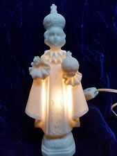 "VINTAGE LEFTON JAPAN CATHOLIC 7"" PORCELAIN LIGHT WITH LONG CORD #2674"