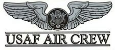 Air Force Aircrew Enlisted Decal