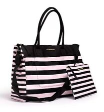Victorias Secret weekender Tote Beach bag XL with extra Small Bag!