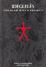 Blair Witch Project Movie Advertising Postcard