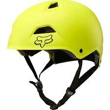 Cascos y protecciones de ciclismo amarillos Fox