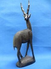 African Ethnic Sculpture Folk Art  ESTATE PIECE Sculpture ANTELOPE CARVING A