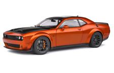 Solido Dodge Challenger SRT Widebody 2020 Echelle 1:18 Voiture Miniature - Orange Metallic (S1805703)