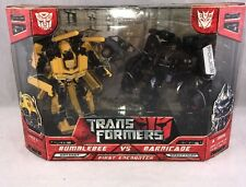 Transformers 2007 Movie First Encounter Battle-Pack Bumblebee Vs. Barricade MISB