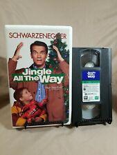 Jingle All the Way (Arnold Schwarzenegger Clamshell Christmas VHS, 1997)