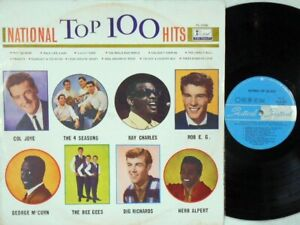 National top 100 hits Rare OZ Only LP EX '69 Festival FL31040 MONO Bee Gees