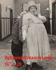 "Buster Keaton~Fatty Arbuckle~Good Night Nurse~Poster~Silent~Photo~ 16"" x  20"""