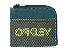 New Oakley Men's 90's Zip Small Thin Wallet Hold credit cards, bills, few coins