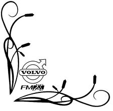 VOLVO FMX Side Window Decals Stickers x 2
