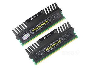 Corsair Memory Kit 8GBx2 (16 GB, DDR3 SDRAM, 1600 MHz, DIMM 240-pin)