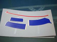 Serie adesivi carena sinistra SX Yamaha FZR 600 1990 per moto bianche