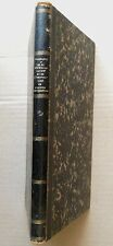 Systématisation & Unification / Harmonies naturelles esoterisme Médecine 1864