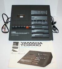 Yamaha TC-800D Cassette Player Designed By Mario Bellini Needs Belt W/ Manual