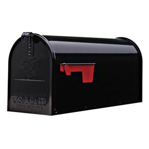 """Original US-Mailbox, Stahl, schwarz - """"Made in USA"""" - US Mailbox - Briefkasten"""