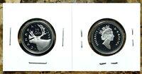 Canada 1996 Proof Gem UNC Silver Twenty-Five Cent Piece!!