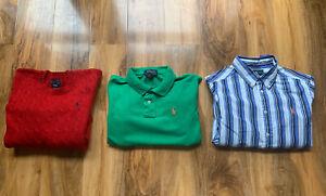 Boy's Bundle Clothes Designer Polo Ralph Lauren Joblot Age 10-11-12 Years