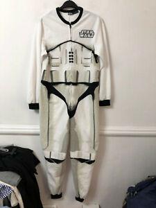 Star Wars White Costume Adult Size XS/S (M702) Dress Up Pijama