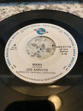 JOE ARROYO / MAMA / SELLO SONY DISCOS / 45RPM
